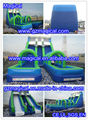 Giant inflatable water slide/long inflatable PVC water slide