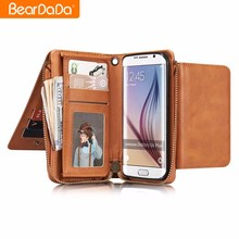 Top Sale wallet case for galaxy s8,leather cover for samsung galaxy s8