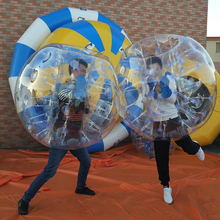Factory stock wholesale cheap price Inflatable Games bumper ball for adults fun playground
