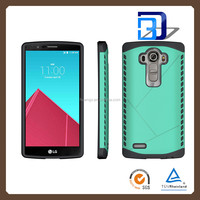 Top Selling Durable Shockproof Heavy Duty Armor case cover 2 in 1 Armor slim case for LG G4 fast delivery
