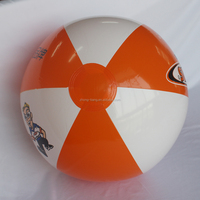 "16"" inflatable beach ball with Maxxis printing in stock"
