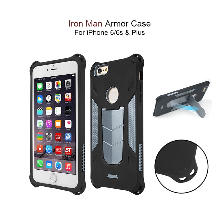 Lighter Heat Dissipation Ultrathin Armor Best Deal Mobile Phone for iPhone, PC Bumper Back Cover Hybird case for iPhone 6 6s