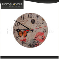 Competitive Factory Cheap Marble Small Black Wall Clock