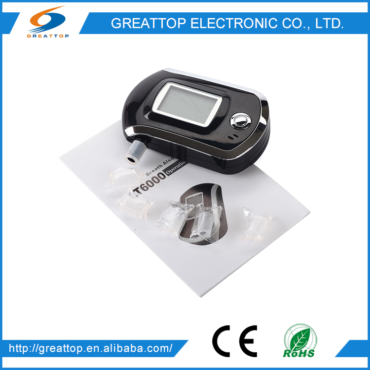 Trustworthy China Supplier Lcd Display Alcohol Breath Tester