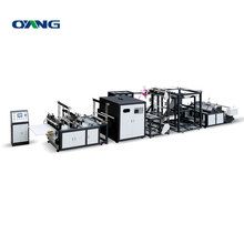 nonwoven bag making machine with online handle attach (AW-XC700-800)