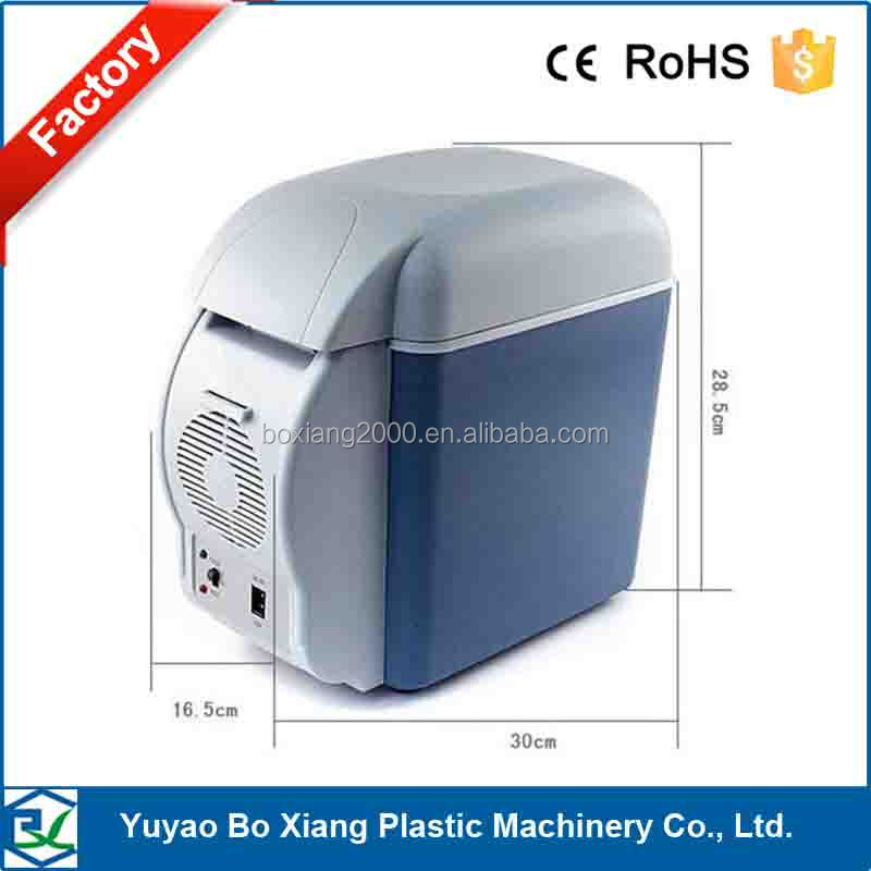 DC 12v semiconductor car cool&warm box/7.5L capacity mini auto car fridge/ cool&warm fridge made in China for fast delivery