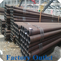 Liaocheng black steel seamless pipes sch40 astm a106 manufacturer/trading company