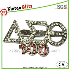 Hot sales delta sigma theta 100 years rhinestone applique