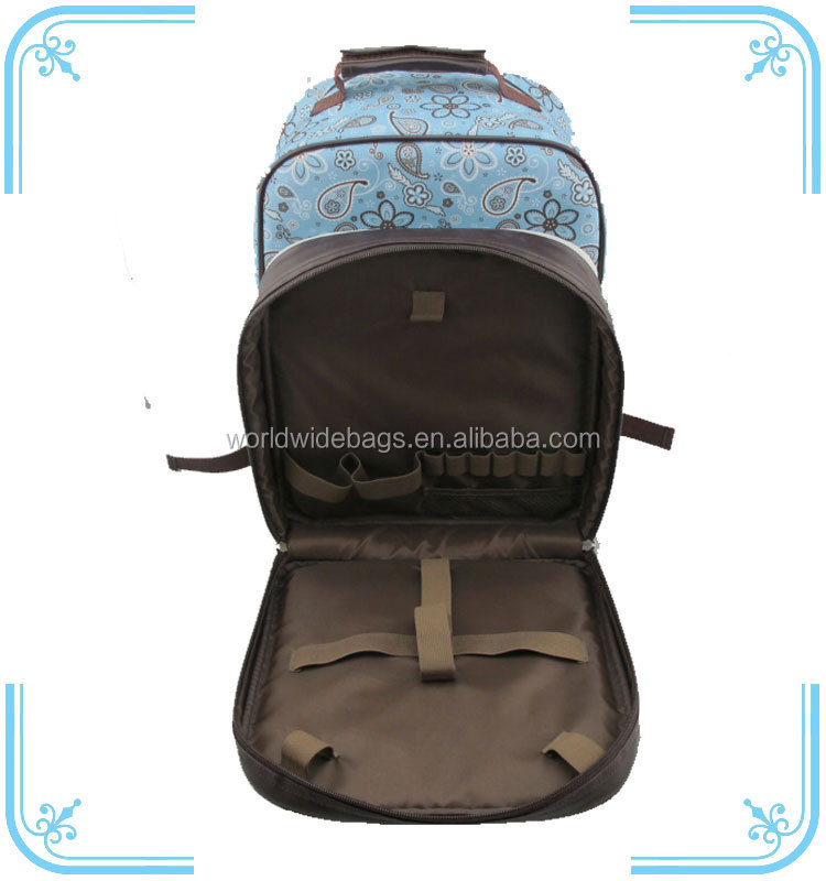 Outdoor Cooler Bag Picnic Backpack Bag for 2 persons
