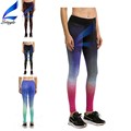 Printed Color Chaning Stretchful Running Pants Workout Leggings for Woman
