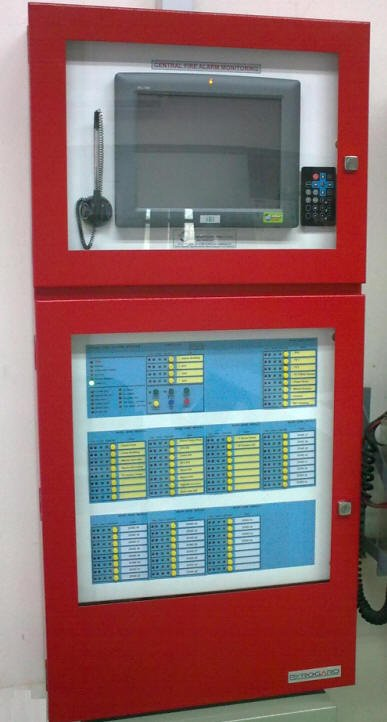 Central Alarm monitoring System