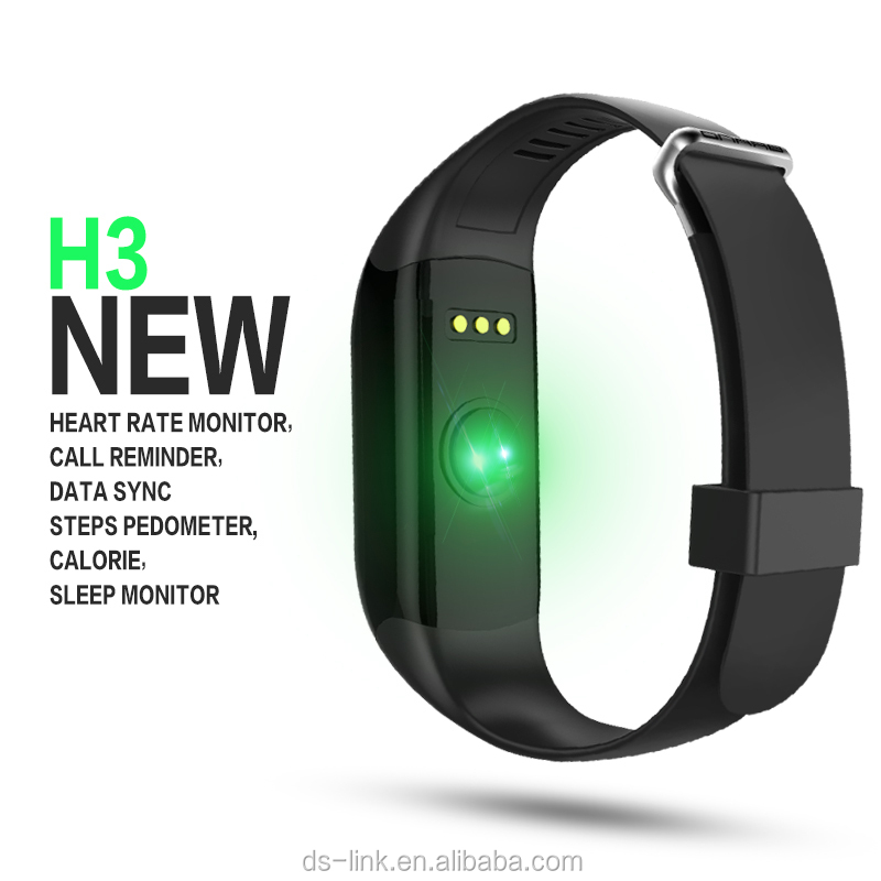 Bluetooth Smart Bracelet Heart Rate Monitor Wristband with Fitness Tracker Intelligent Ring Fitbit Watch