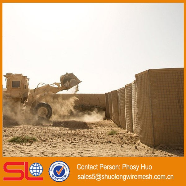 High quality military sand hesco bastion price / hesco bastion concertainer