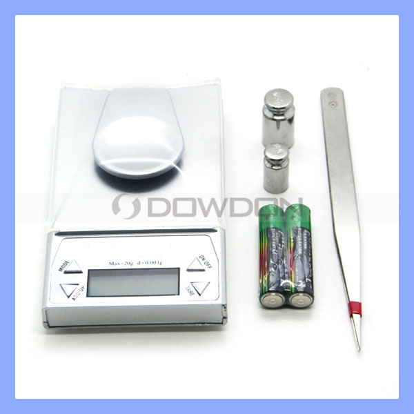 10g x 0.001g/ 20g x 0.001g Digital Precision Scale Jewelry Diamond Gold Balance Gram Scales