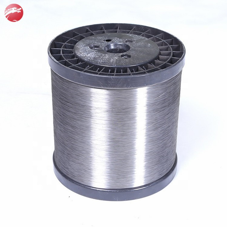 Manufacture 0.7 mm to 0.13 mm AISI Ss 410 430 Stainless Steel Scourer Wire