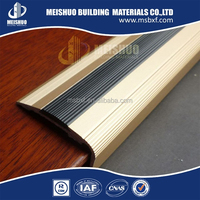 flexible aluminum pvc rubber stair nosings in construction materials