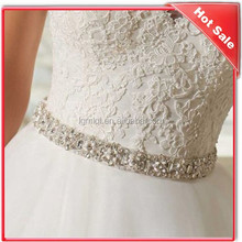 beaded and crystal appliques for wedding dresses