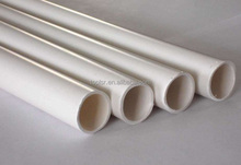 Chinese pvc manufactory pvc channel pipe upvc tube for waste water