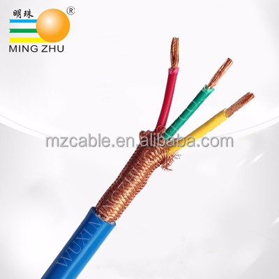 China manufacturer copper conductor 3 core flexible cable