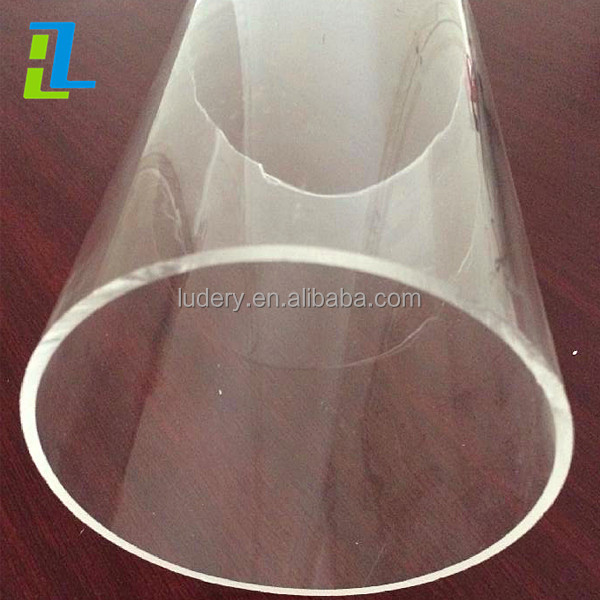 Clear And Colored 1000mm Large Diameter Cast Acrylic Tube