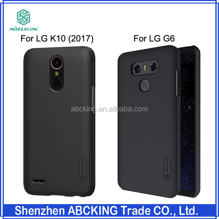 Nillkin For LG <strong>K10</strong> (2017) Frosted Hard Hard Back Cover Case For LG G6 With Screen Protector
