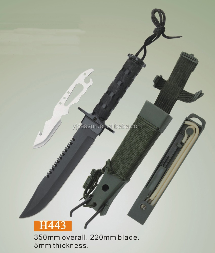 H443 Jungle King survival hunting knife