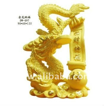 Gold Gift-24K Gold Plated Dragon