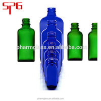 essential blue or green oil dropper bottle in good quality and best price