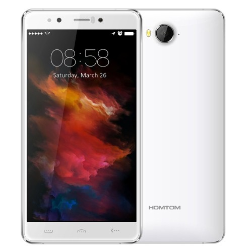 Presales HOMTOM HT10 32GB, Network: 4G,5.5 inch Android 6.0 MTK6797 Helio X20 Ten Core, RAM: 4GB(White)