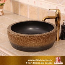copper modern art bathroom colour wash basin