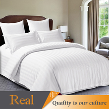cheap Pure white hotel home textiles 100% cotton sheets bed bedding set