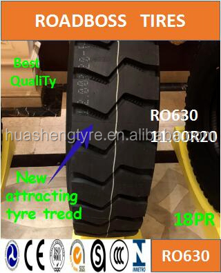 Made in China High cut resistance RO630 11.00R20 with Global Supplier of High Quality Tires
