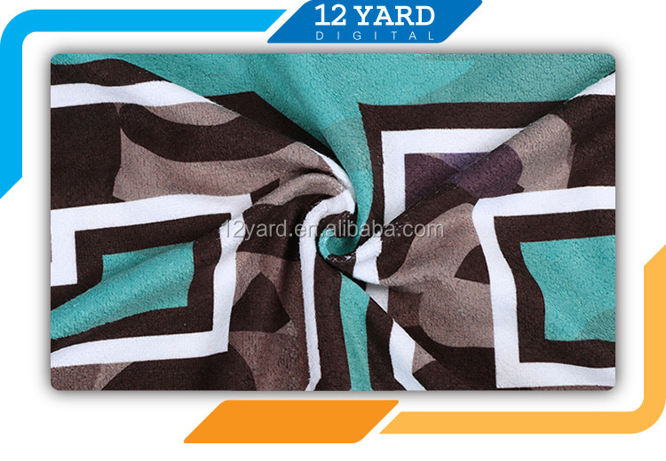 beach towel with hoodies sublimation print customer design beach towel