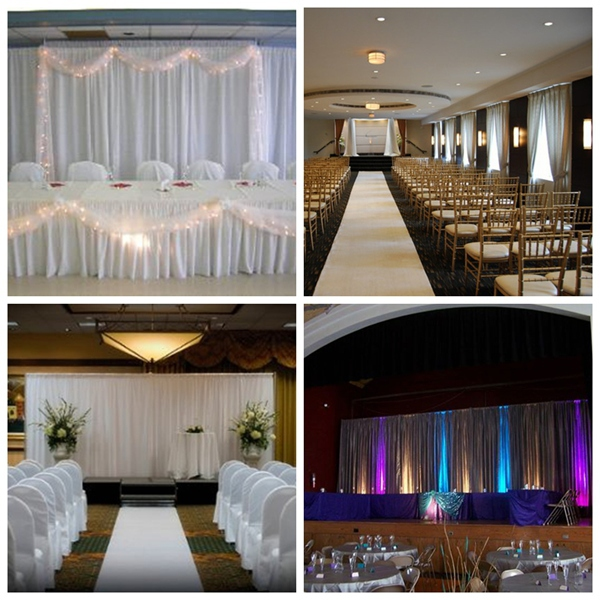wedding inflatable tent, pipe and drape for church backdrops