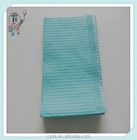 Medical Polymer Materials & Products Blue Medical Dental Bibs