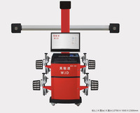 four wheel positioning instrument automobile auto tracking 3D wheel alignment/Automobile four wheel maintenance equipment