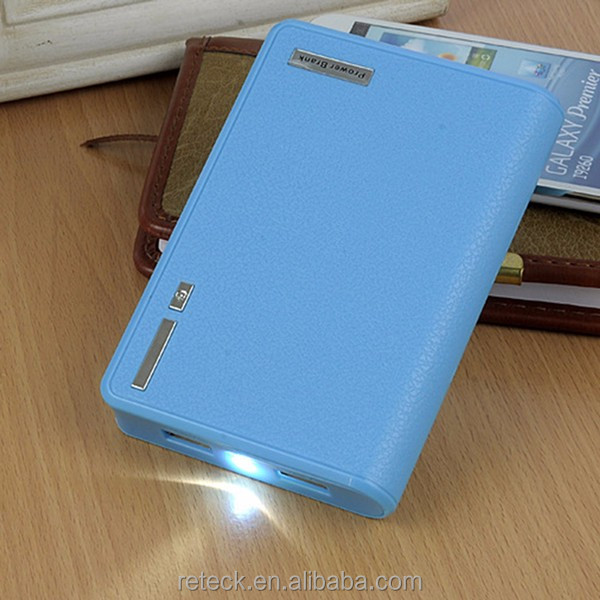 Led flashlight 8800mAh Portable Universal External Battery Power Bank Charger For Cell Phone