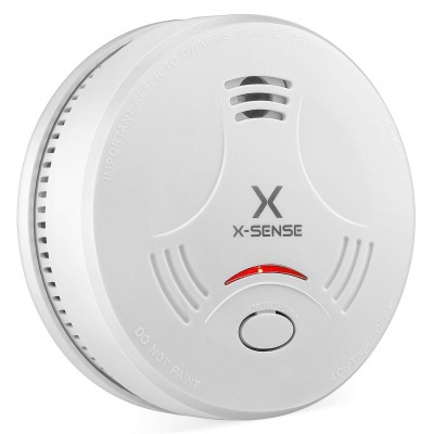 CE and TUV Certified, EN14604 Standard Smoke Detector Stand Alone Fire <strong>Alarm</strong> with <strong>10</strong> Years Battery Life