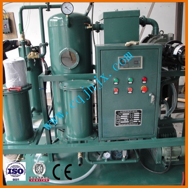 ZLA Double Stage Vacuum transformer/Insulation Oil Purification,Oil Purifier,Oil Filtration Machine