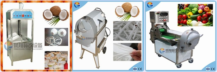 Automatic Coconut Crusher, Coconut Grinder, Cocount Crusher Machine