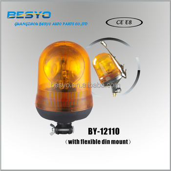 Heavy vehicle rotating beacons, revolving light, halogen warning light BY-12110