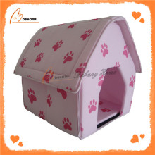 Top quality cheap pink soft sponge dog houses
