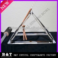 Customized Quartz Crystal Pyramid For Sound
