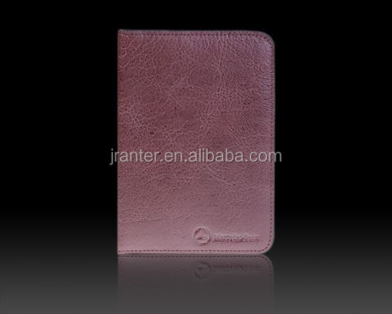 Wholesale Passport Cover Holder Genuine Leather Custom Passport Holder