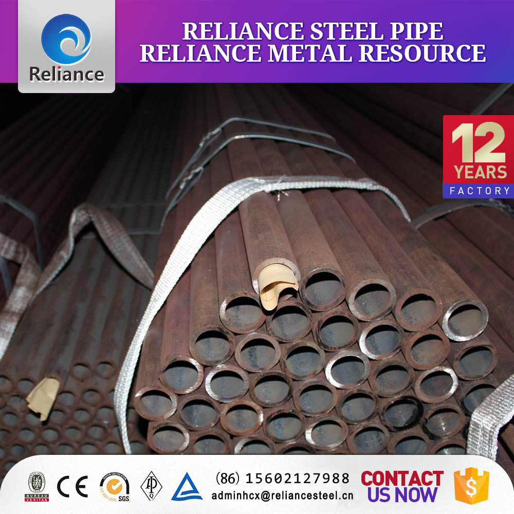 Delivery liquid large diameter seamless thin wall steel pipe