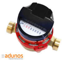 Multijet water meter, horizontal installation