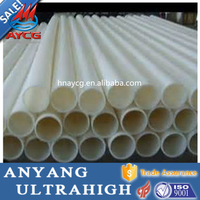 AYCG high density longer life wear resistance impact resistance plastic hdpe pipe 100mm