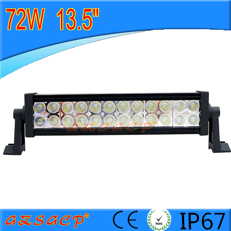 Factory wholesale 72w high lumens led offroad light bar for all vehicles