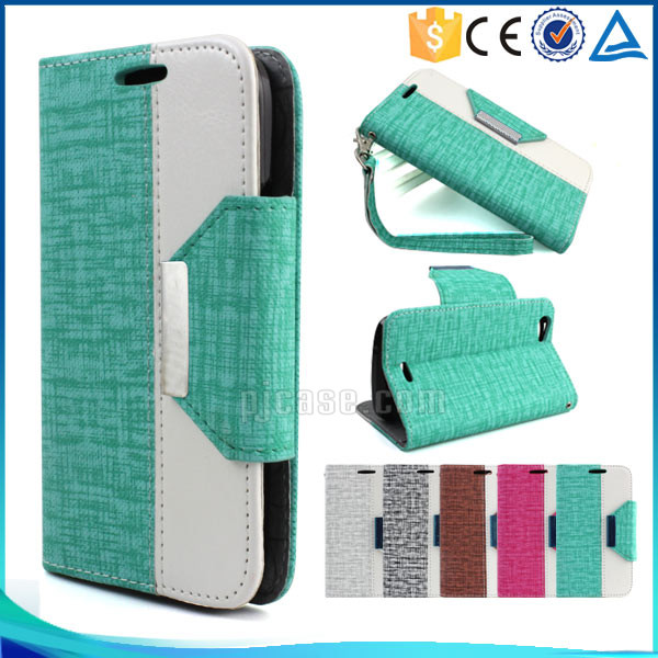 New arrival mix color wallet style design cell phone case for Leagoo Lead 7