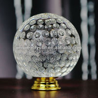 New Crystal Golf Ball Metal Suitcase Handle In Gold Hardware 50mm